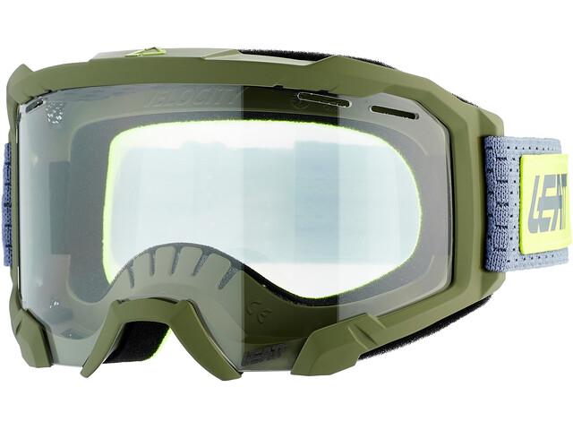 Leatt Velocity 4.0 Goggles MTB, cactus